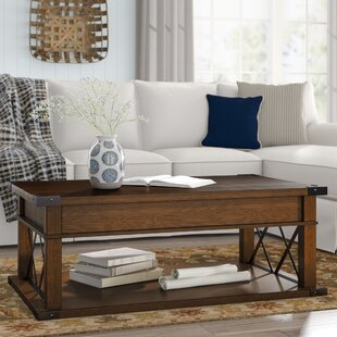Low priced Fusillade Lift Top Coffee Table ByBirch Lane™