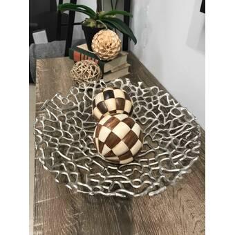 Orren Ellis Chadwyck Sesgo Twisted Decorative Bowl Reviews Wayfair