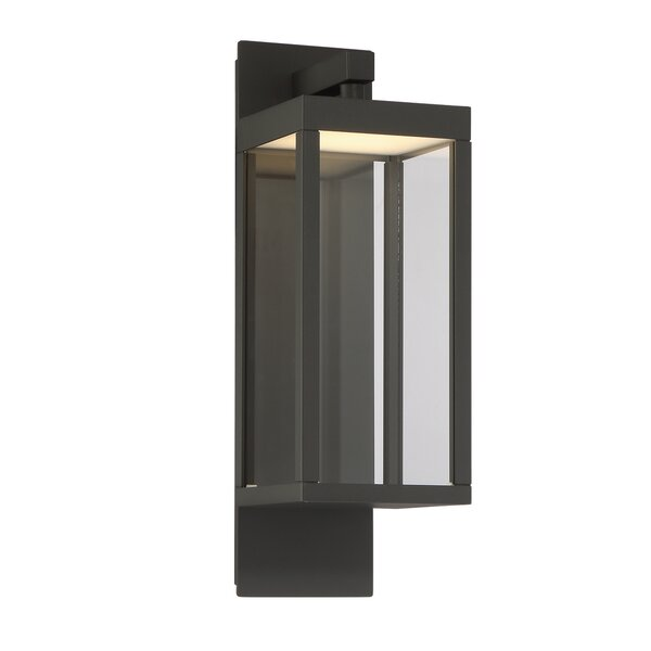 Fairlop Modern LED Outdoor Flush Mount by Gracie Oaks