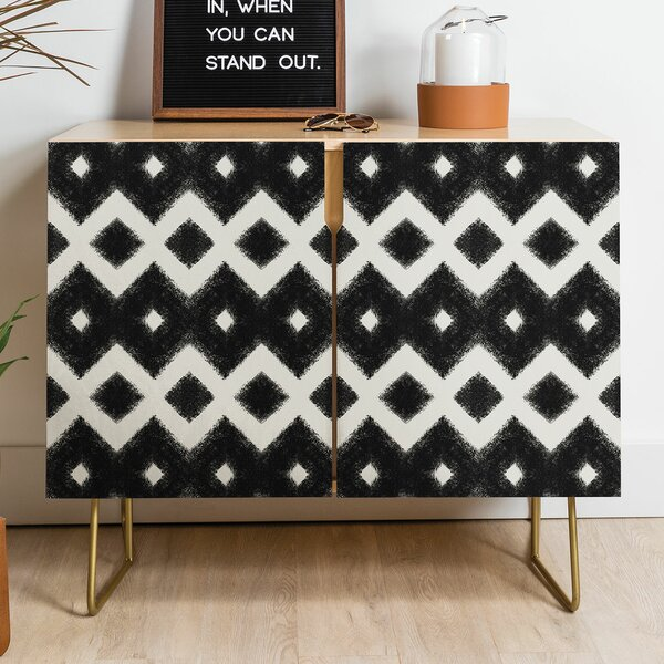 Triangle Footprint Accent Cabinet