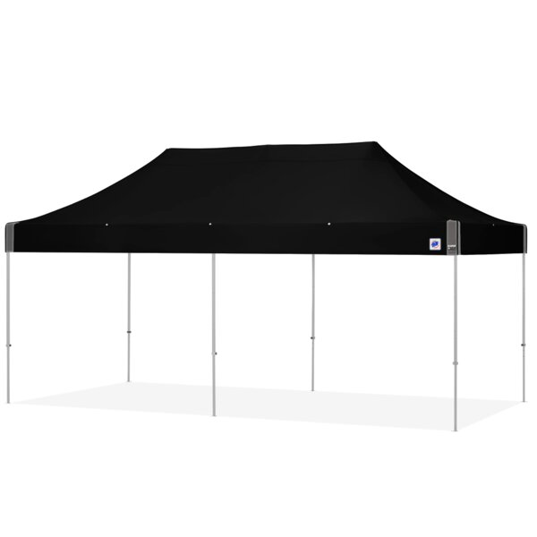 Eclipse 10 Ft. W x 20 Ft. D Aluminum Pop-Up Party Tent by E-Z UP