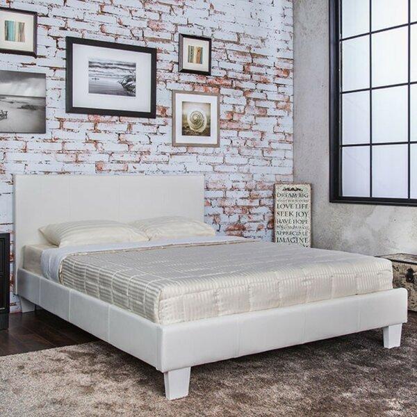 Ryedale Padded Leatherette Upholstered Platform Bed by Ebern Designs
