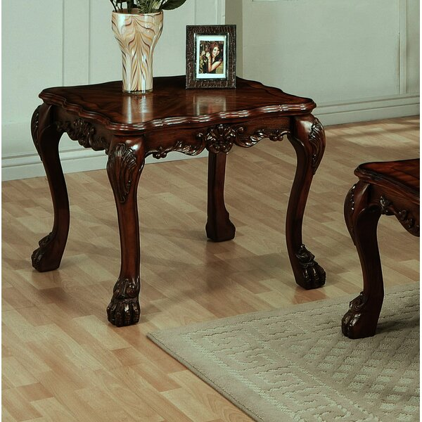 Tobin End Table by Fleur De Lis Living