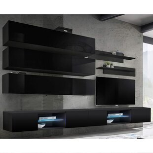 Leverette Floating Entertainment Center for TVs up to 70 by Orren Ellis