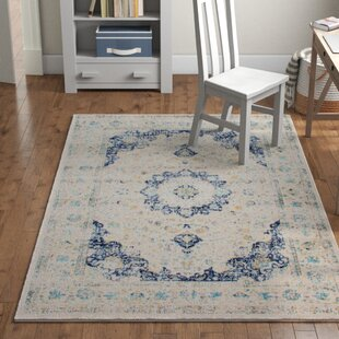 Hosking Blue Area Rug by Laurel Foundry Modern Farmhouse