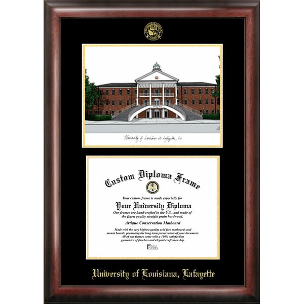 NCAA Louisiana at Lafayette University Diploma Picture Frame by Campus Images
