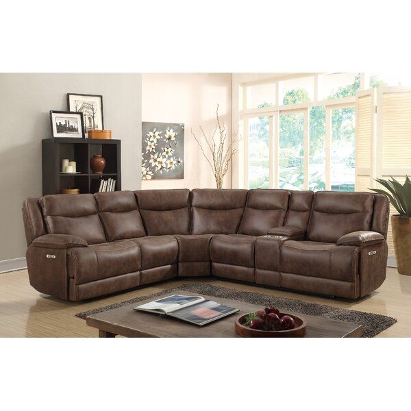 Oscoda Reclining Sectional by Winston Porter