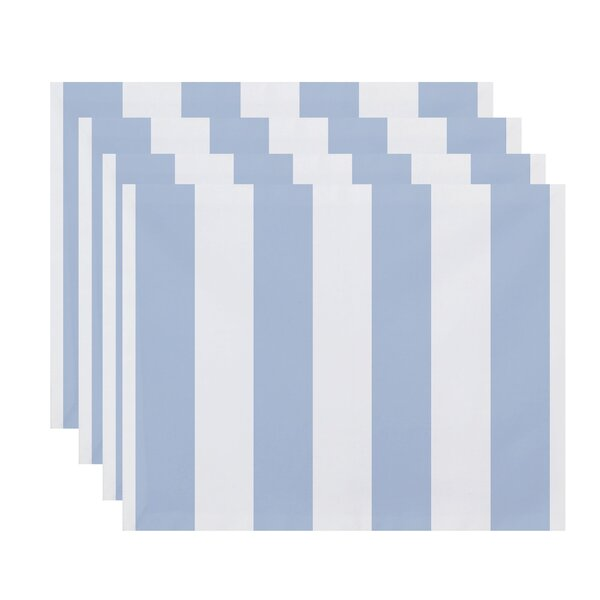 Harriet Stripe Print Placemat (Set of 4) by Breakwater Bay