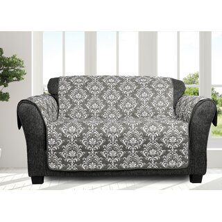 Ardie Box Cushion Loveseat Slipcover by Ophelia & Co. SKU:DC347856 Description