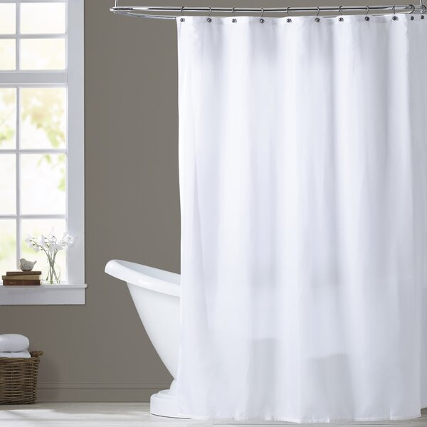 Berning Shower Curtain Liner by Three Posts