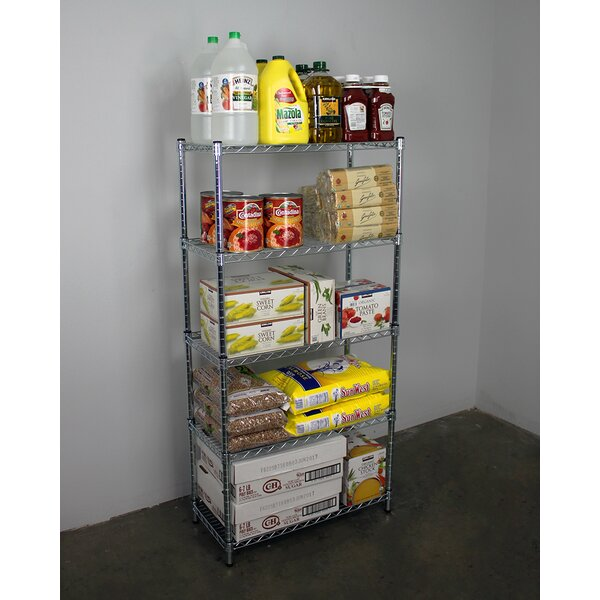 5-Tier Wire Shelving Unit by SafeRacks