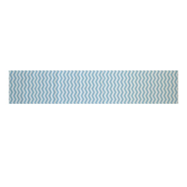 Randall Chevron Table Runner by Ivy Bronx