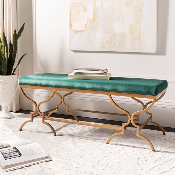 Mccutcheon Upholstered Bench by House of Hampton