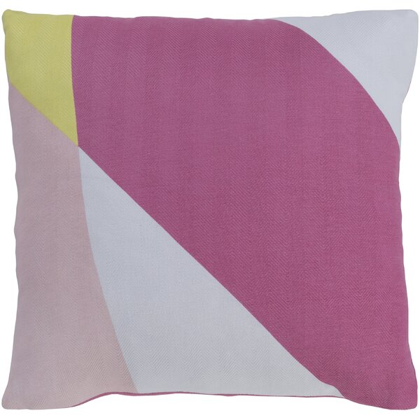 Teori Modern Cotton Throw Pillow by Surya
