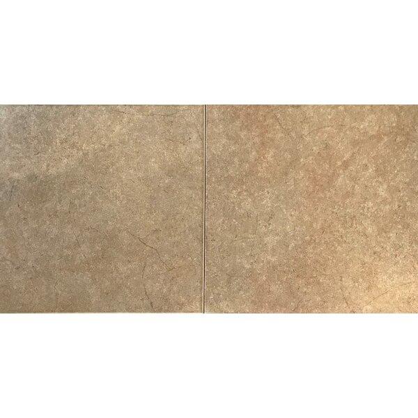 12 x 12 Ceramic Field Tile in Brown by Travis Tile Sales