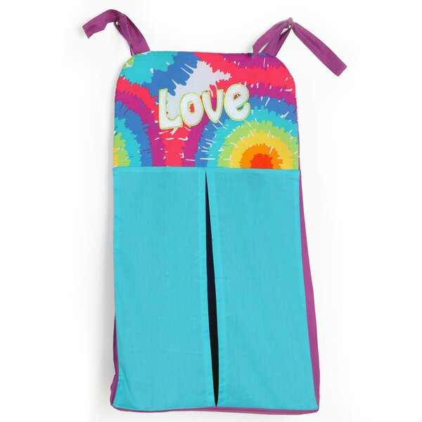 Terrific Tie Dye Diaper Stacker by One Grace Place