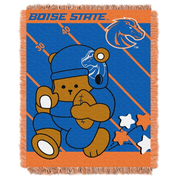 Collegiate Boise State Baby Blanket by Northwest Co.