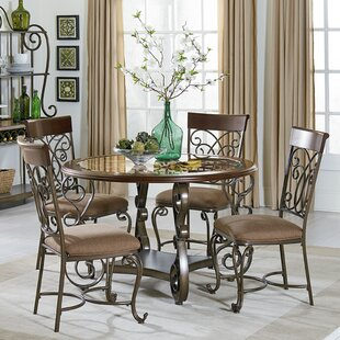 Goldenrod 5 Piece Dining Set by August Grove
