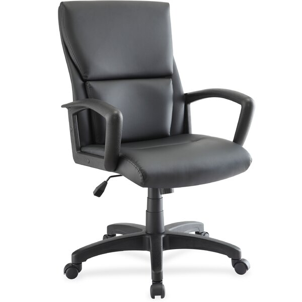 Euro Design Mid-Back Desk Chair by Lorell