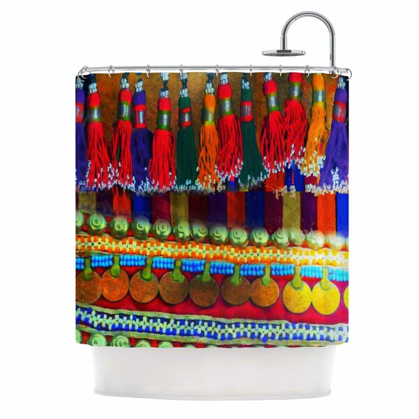 Boho Mania by S Seema Z Ethnic Shower Curtain by East Urban Home