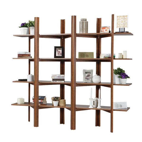 Battle Accordion Etagere Bookcase by Brayden Studio