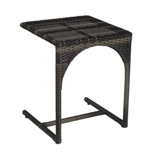 Canaveral Wicker Side Table by Woodard