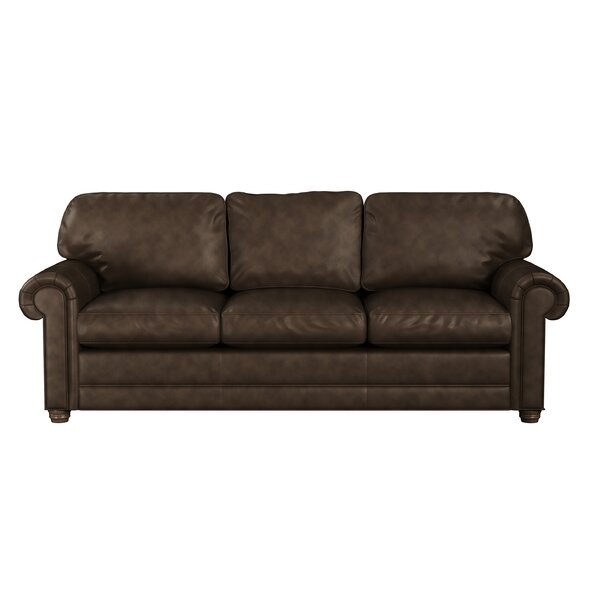 Oslo Leather Sofa Bed Sleeper By Westland And Birch