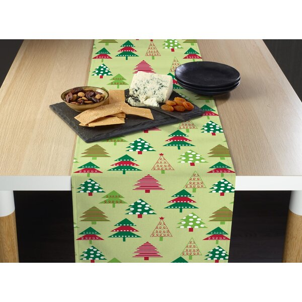 Entrekin Decorated Christmas Tree Table Runner by The Holiday Aisle