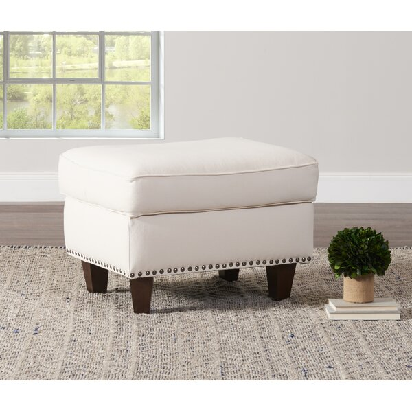 Kaelyn Ottoman by Wayfair Custom Upholstery™