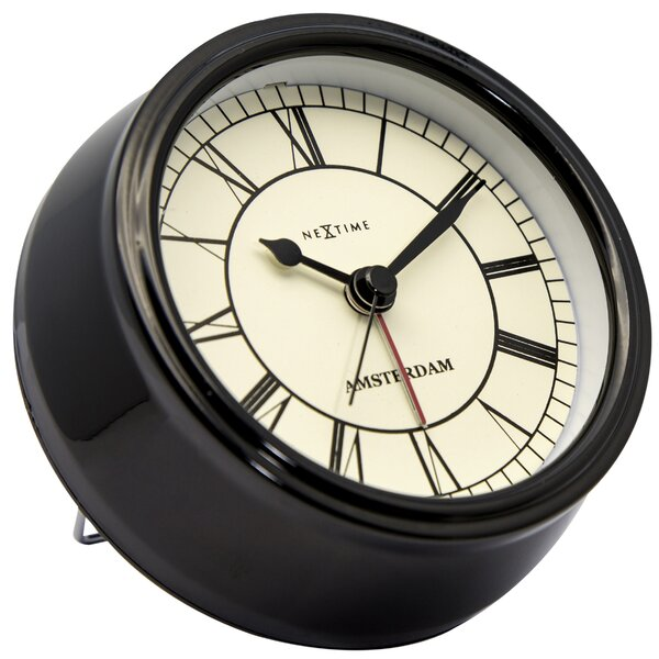 Alayna 4.75 Amsterdam Tabletop Clock by Charlton Home