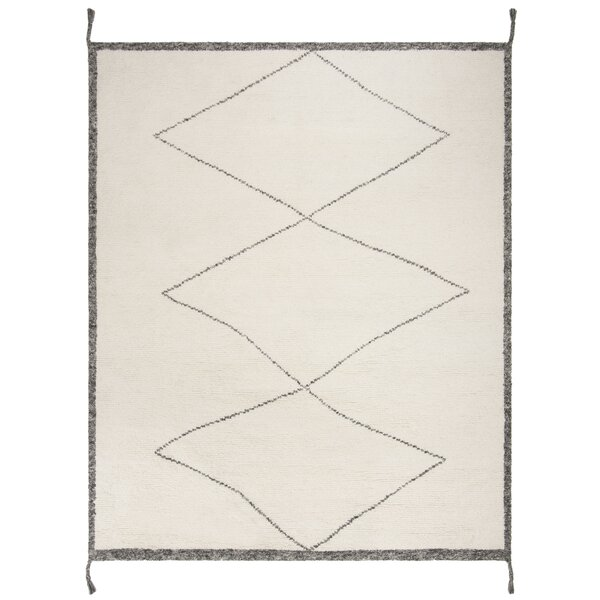 Betances Hand-Woven Wool Ivory Area Rug by Bungalow Rose