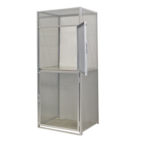 Bulk 2 Tier 1 Wide Storage Locker by Hallowell