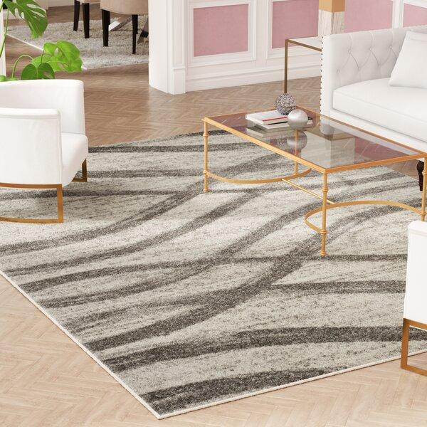 Marlee Cream/Gray Area Rug by Willa Arlo Interiors