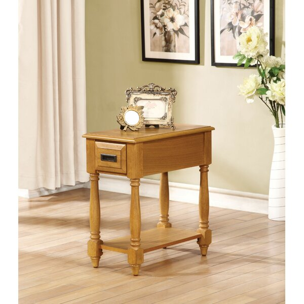 Julissa End Table by Alcott Hill