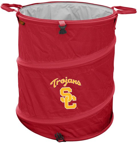 Collegiate Trash Can - Southern California by Logo Brands