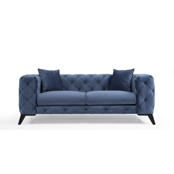 Rhoden Chesterfield Sofa By Everly Quinn