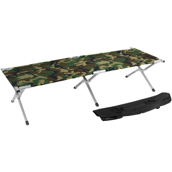 Portable Folding Camping Bed and Cot by Trademark Innovations