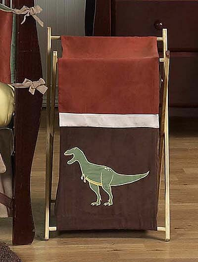 Dinosaur Land Laundry Hamper by Sweet Jojo Designs