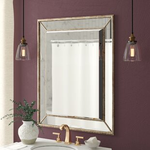 Maybery Rectangle Vertical Bathroom Vanity Wall Mirror