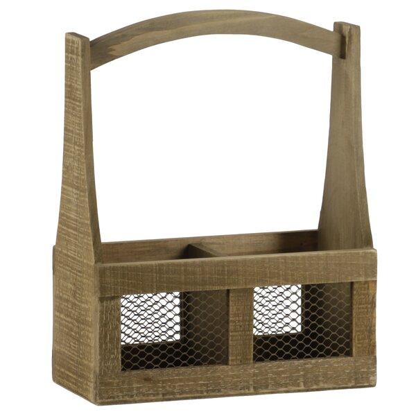 Rectangular Wood Planter Box by Gracie Oaks