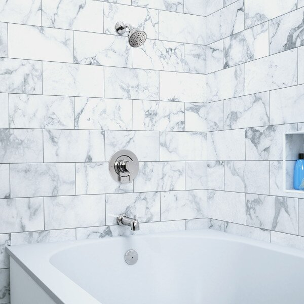 Vichy Posi-Temp Tub Filer with Shower by Moen