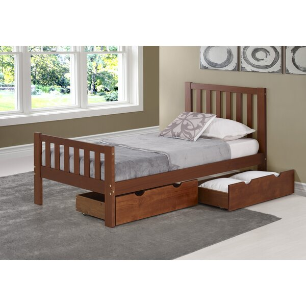 Ratcliff Twin Platform Bed with Drawers by Alcott Hill