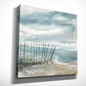 'Subtle Mist II' by Carol Robinson Painting Print on Wrapped Canvas by Wexford Home