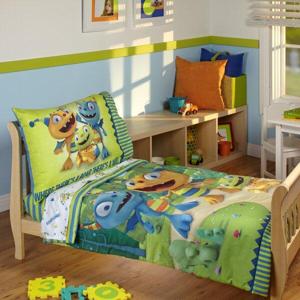 Henry Hugglemonster 4 Piece Toddler Bedding Set by Disney