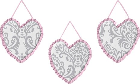 3 Piece Elizabeth Wall Hanging Set by Sweet Jojo Designs
