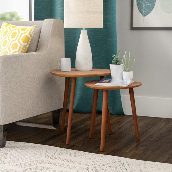 Creenagh 2 Piece Nesting Tables By Langley Street™