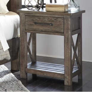 Cipriani 1 Drawer Night Stand by Gracie Oaks