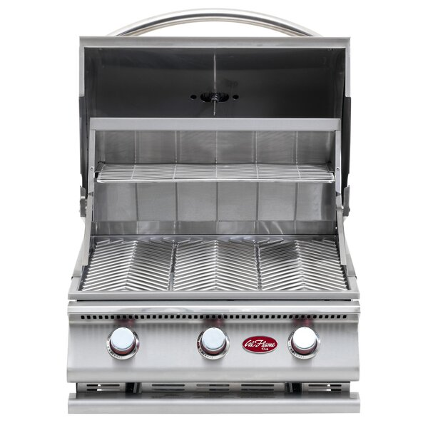 G-Series 3-Burner Built-In Propane Gas Grill by Cal Flame