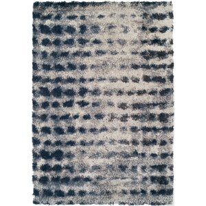 Zhora Shag Denim Area Rug