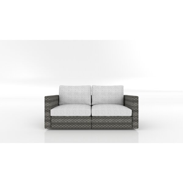 Shoup Loveseat with Cushions by Bayou Breeze